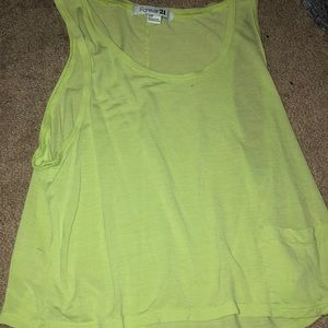 Forever 21 workout tank